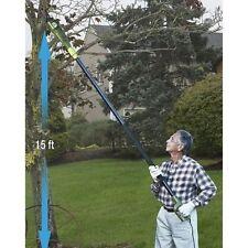 Electric Pole Chain Saw Tree Branch Limb Log Bush Trimmer Pruner Garden Tools