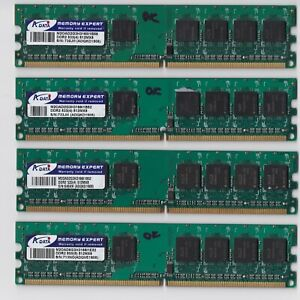 ADATA DDR2 533MHz PC2 512MB module 2GB kit 4pcs RAM Memory DIMM