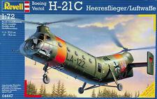 Revell 1:72 Boeing-Vertol H-21C, Heeresflieger/Luftwaffe. Kit. Nr. 04447