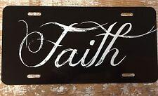 Christian Faith License Plate Car Tag  Custom New Custom Colors