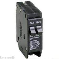 Cutler-Hammer Circuit Breaker BD1515 2 Poles 15 Amps Type BRD 120/240