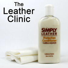 Simply Leather Protection Conditioner For Car, Sofa, Coat, Handbag / Cream.