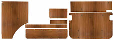 WESTFALIA Berlino Ply LEGNO Interior Panel set 7 pc per VW Baywindow COME ORIGINALE