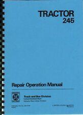"Leyland ""245"" Tractor Workshop Manual"