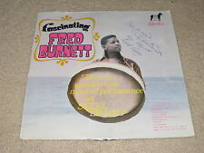 VINTAGE SIGNED AUTOGRAPHED RECORD VINYL FASCINATING FRED BURNETT