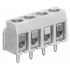 2 pezzi MORSETTI Connettore per CIRCUITO STAMPATO 5 POLI, passo 5 mm