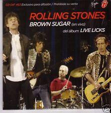 """Rolling STONES """"BROWN SUGAR (live)"""" RARE 1 TRACK PROMO"""