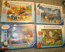 4 Ravensburger Jigsaw Puzzle Kids 4 + / Animals Construction Thomas & Friends