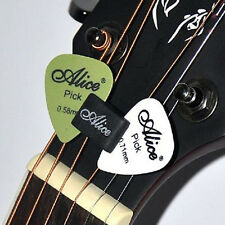 Bass Guitar Rubber Headstock Pick Plectrum Holder + 2 FREE Pick Accessories Gift