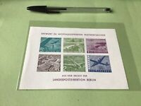 Berlin 1969 Philatelic  exhibition mint never hinged  Stamps Card  Ref  51534