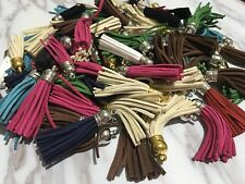 10Pcs Random Mixed Velvet Tassel Pendants Trimming DIY Craft Embellishment 6cm