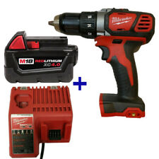 Milwaukee 2606-20 M18 18V Drill Driver Battery 48-11-1840 4.0 48-59-1812 Charger