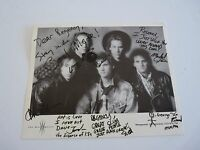 The Way Moves Vintage Band Autographed Signed 8x10 Photo PSA Guaranteed #2