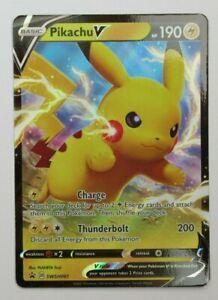 Pikachu V - SWSH061 Sword & Shield Promo - Rare Pokemon Card