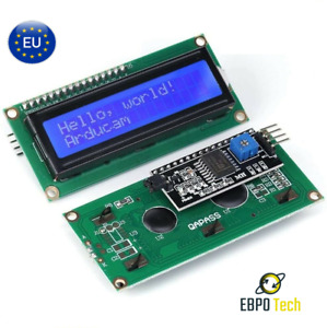 Display LCD 1602 Blau & Grün HD44780 I2C Arduino