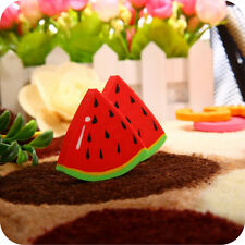 2X Chic Fruit Eraser Kids School Supplies Rubber Watermelon Oranges Kiwi Rubbers