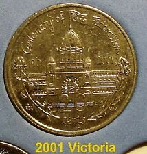 ***2001 VICTORIA 20 cent UNCIRCULATED Centenary of Federation coin from set!***