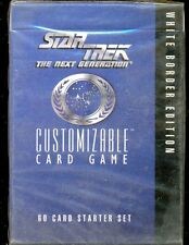 DECIPHER 1 STARTER STAR TREK NEST GENERATION CCG