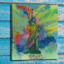 Canvas Art Oil Print Painting LeRoy Neiman Lady Liberty Home Wall Decor 24x30