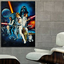 Poster Mural Movie Sci Fi Star Wars 35x47 inch (90x120 cm) on Canvas