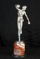 ART Deco Argento Bronzo russo DANCER Bronzo Firmata Chiparus
