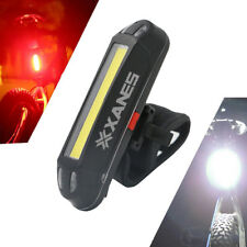 XANES 2 in 1 500LM Bicycle USB Rechargeable LED Bike Front Light Taillight