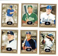 2002 Just Prospects Gold Set (cards#1 thru 40)  Mauer, Cruz, Morneau,Molina RCs