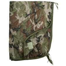 Ripstop Poncho Liner Travel Slaapzak Quilted Opgevulde Mat Franse Leger Cce Camo