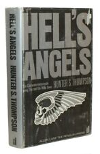 1967 HUNTER S. THOMPSON Motorcycling HELL'S ANGELS Dustwrapper 1ST U.K. EDITION