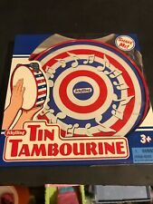 SCHYLLING TIN TAMBOURINE NIB