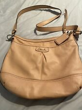 Coach Ashley leather Carnation Pink crossbody purse