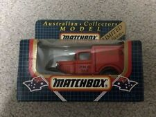 Matchbox MB Limited Edition Diecast Vehicles