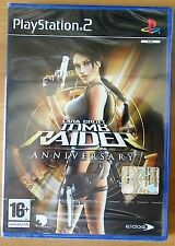 Tomb Raider Anniversary Ps2 PlayStation 2 Version PAL Eng