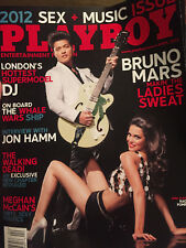Playboy MAGAZINE---APRIL 2012  ISSUE !!! ---BRUNO MARS COVER