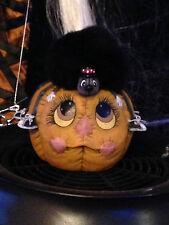 Donas Ceramic Bisque Spider on Pumpkin Ready to Paint