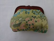 Vintage Green Chinese Women's Coin Purse