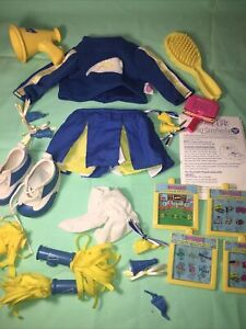 Amazing Ally Let's Play Cheerleader Play Set Complete EUC