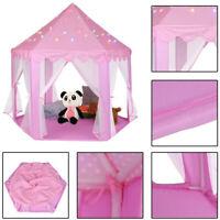 Girls Princess  Up Castle Play Tent Girls Playhouse Toy House Kids Fun Garden