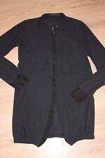 Marithè Francois Girbaud Blazer Mantel Kleid schwarz dt Gr. 42 Cravatakiller