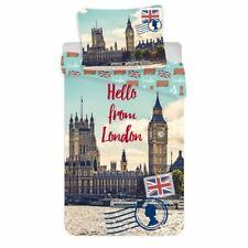 Hello de London Big Ben Set Housse de Couette Simple Européen Taille Coton