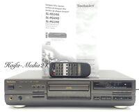 Technics SL-PG590A Hi-Fi Stereo CD Spieler Compact Disc Player +FB 12 M. Gewähr.