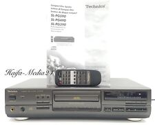 TECHNICS sl-pg590a Hi-Fi Stereo CD Giocatore COMPACT DISC PLAYER + FB 12 M. alcuna garanzia.