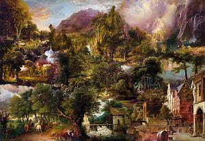 Vliestapete Fototapete HERITAGE 368x248 historische Malerei, gedeckte Farben Art