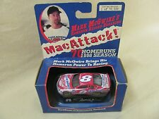 NASCAR 1:64 Mark McGwire #8 Mac Attack Diecast Car Bobby Hillin, Jr Driver