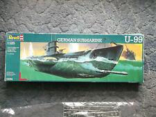 Revell 05054 Dt. U- Boot U 99 Typ VII/B Kpt.lt Otto Kretschmer 1:125