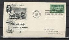 FDC  États-Unis 1953 enveloppe 1er jour tampon à date Washington  /B5A
