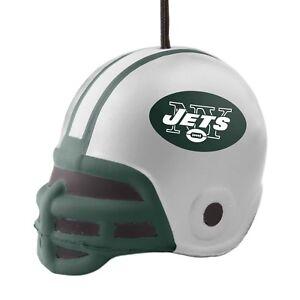 New York Jets Logo NFL Football Squish Helmet Holiday Christmas Tree Ornament