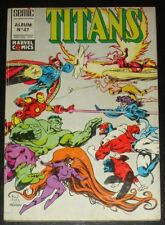 Exalibur New Mutants Avengers West Coast / Titans Album #47 / France 1991