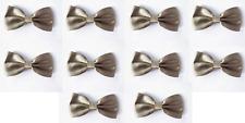 LOT OF 10 Cool Tan Men's Adjustable Bowties/Bow tie Tuxedo Wedding