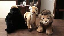 Webkinz Signature Lion, Dama Gazelle, Lowland Gorilla Amazing Lot